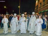 Верующие Бруклина отпраздновали Пасху Христову