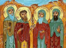 Мученики Шио, Давид, Гавриил и Павел, пострадавшие от дагестанцев