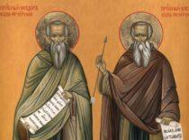 Преподобномученики Феодор и Василий Печерские (XI в.)