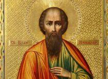 Блаженный Николай Новгородский, юродивый (+1392)