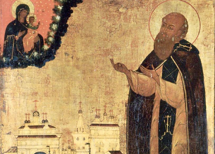 Преподобный Адриан Угличский (+1504)