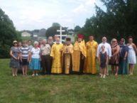 28 июля – Пенсильвания: в Льюисбурге освятили место под храм в честь святителя Иоанна Шанхайского