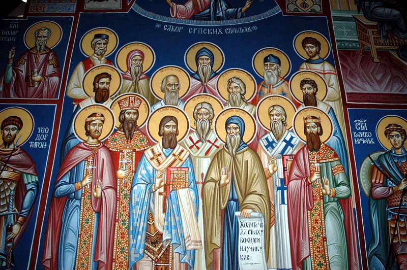 Святитель Спиридон, Патриарх Сербский (+1389)