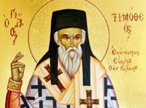 Святитель Тимофей Еврипосский, чудотворец (+1580)