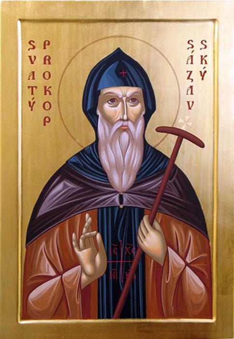 Преподобный Прокопий Сазавский (+1053)