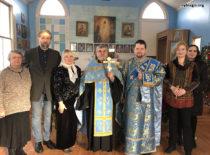 В Свято-Николаевской церкви Нью Джерси отметили Сретение Господа Бога и Спаса нашего Иисуса Христа